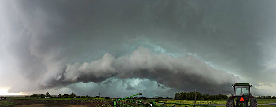 Storm over Farmland by Jennifer Brindley
