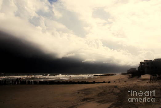 Susanne Van Hulst - Stormy Beach at the Coast of South Carolina