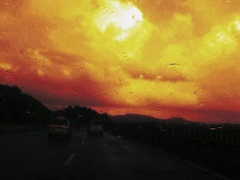Stormy clouds  by Prashant Upadhyay