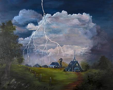 Stormy Evening by Jan Holman