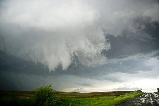 Stormy Sky Funnels by Jennifer Brindley