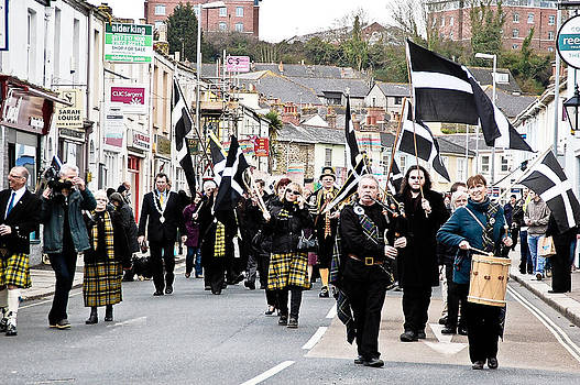 St.Pirans Day by Simon Clare