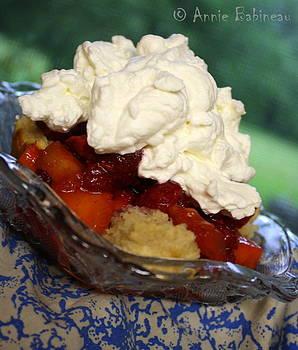 Anne Babineau - strawberry peach shortcake