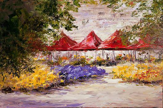 Street Market by Glenda Cason