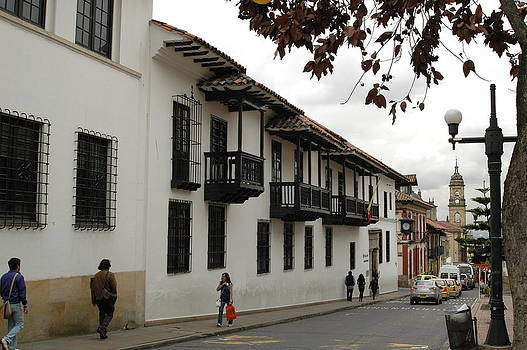 Streets of La Candelaria by Kathy Schumann
