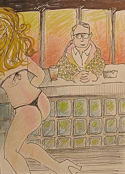 Strip Club Patron by Walter Clark