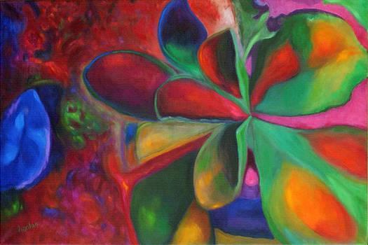 Succulant I by Susan Hanlon