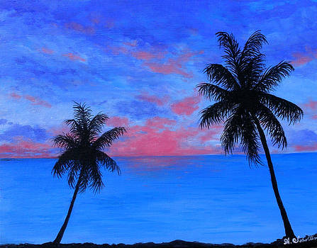 Sultry Blue Persuasion by Amy Scholten