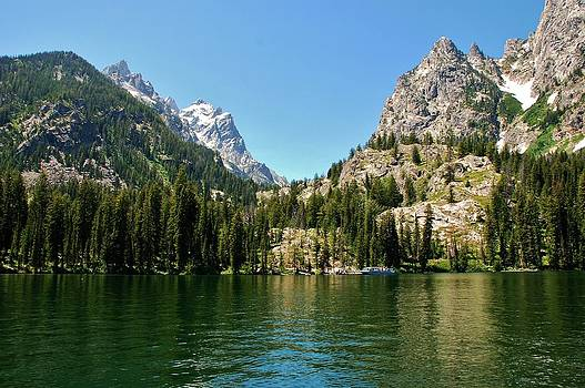 Summer Day at Jenny Lake by Dany Lison