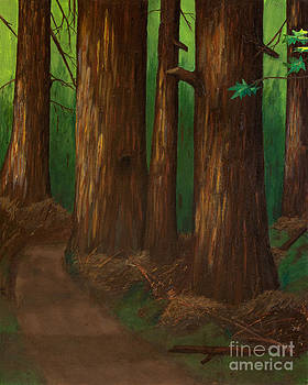 Summer Day in a Dark Forest by L J Oakes