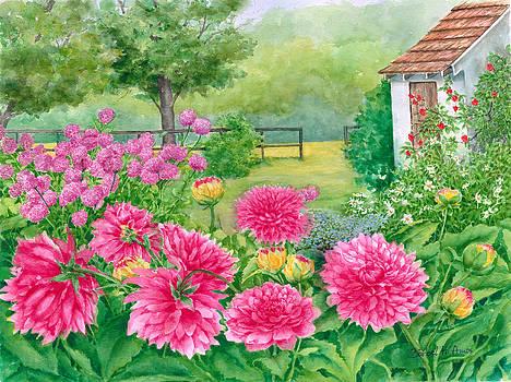 Summer Garden by Barbel Amos