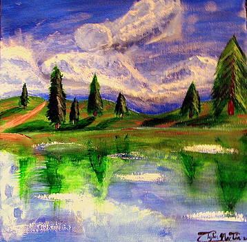 Summer Lake by Tyler Martin