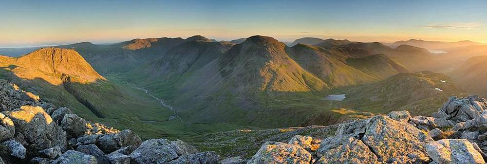 Summer Rays Great Gable by Stewart Smith