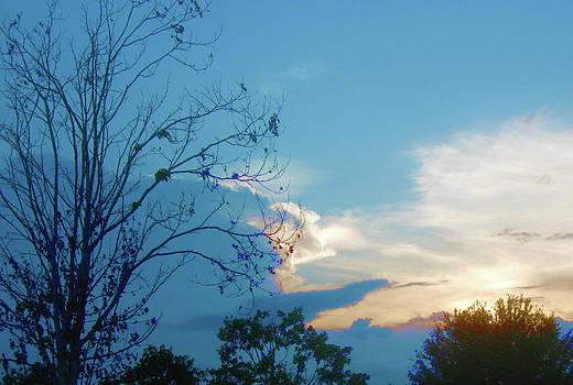 Summer Sky by Juliana  Blessington
