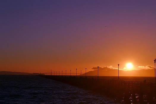Sun Is Going Down by Saifon Anaya