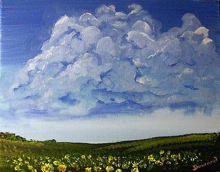 Sunflower Field by Raymond Doward