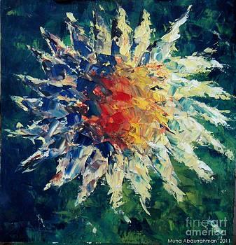 Sunflower by Muna Abdurrahman