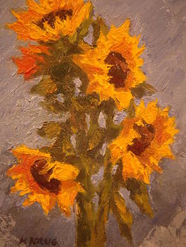Sunflowers 2 by Ken Krug