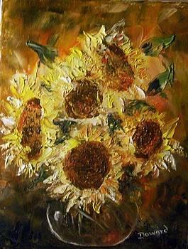 Sunflowers 2 by Raymond Doward