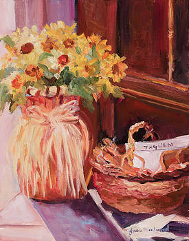 Sunflowers and the Breadbasket by Jane Woodward