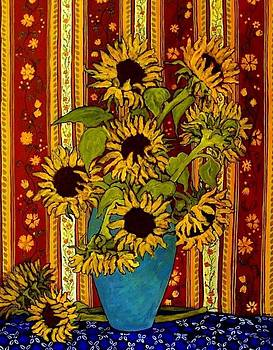 Sunflowers by Janet Moore
