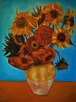 Sunflowers by Varvara Stylidou