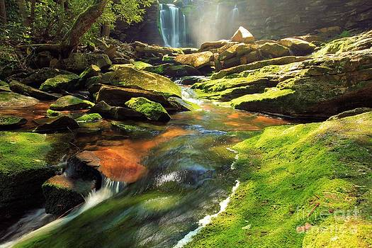 Adam Jewell - Sunlight Rainbow Falls