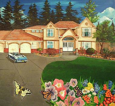 Sunny Day at Home by Tim Loughner
