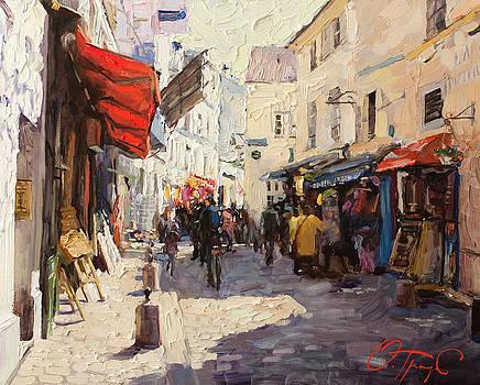 Sunny Montmartre by Oleg Trofimoff