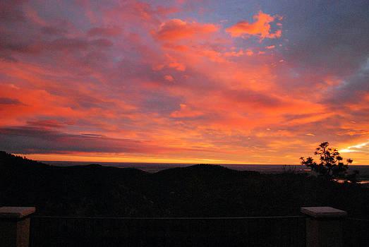 Sunrise Above Boulder-Photo by William Frew
