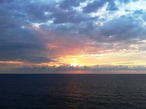 Sunrise at Sea by Cristy Crites