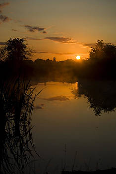 Sunrise By A Lake by Pixie Copley