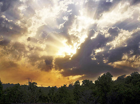 Sumit Mehndiratta - sunrise on a cloudy day