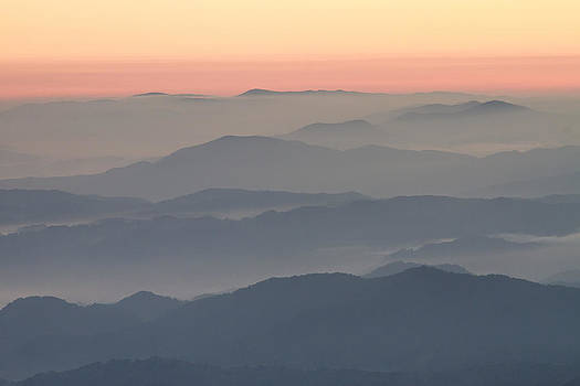 Sunrise on Round Bald by Bill Swindaman