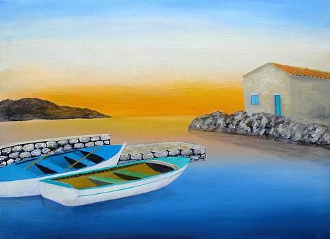 Sunrise On The Adriatic by Larry Cirigliano