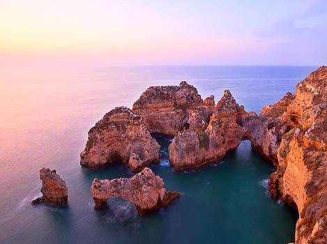 Sunrise Serene Coastline by Monica and Michael Sweet