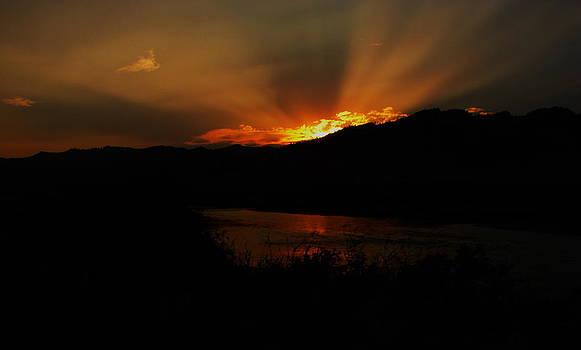 Sun's down by K Walker