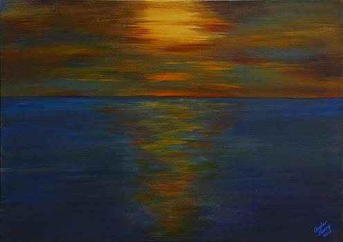 Sunset 2 by Angela Tomey