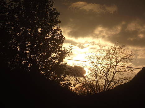 Sunset - April 30 2012 by Martin Blakeley