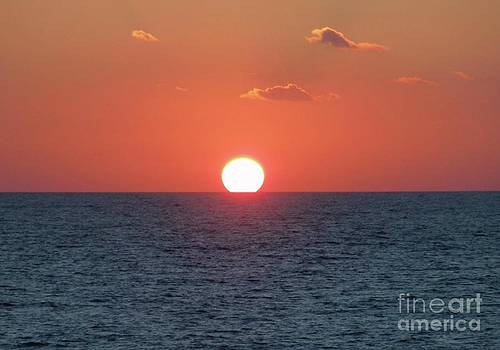 Sunset at Sea by Marilyn West