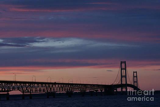 Linda Knorr Shafer - Sunset Bridge