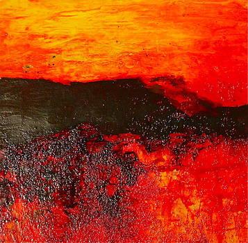 Sunset Fire by Janice Nabors Raiteri
