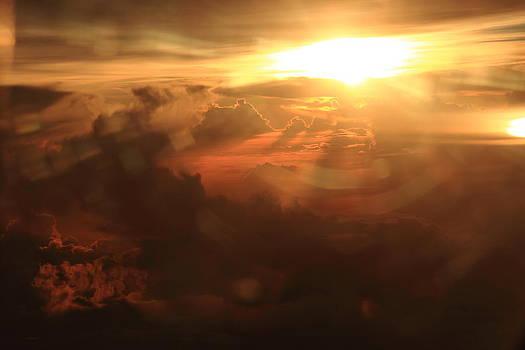 Sunset Glare by Rahul Manglekar