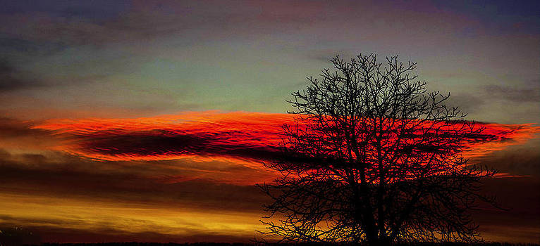Sunset  by Ian Flear