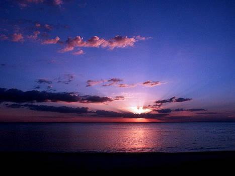 Sunset In Blue by Bill Lucas