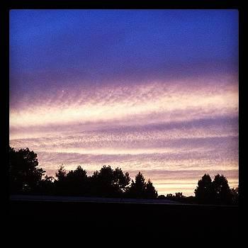 Sunset In Port Washington by Mandy Wiltse