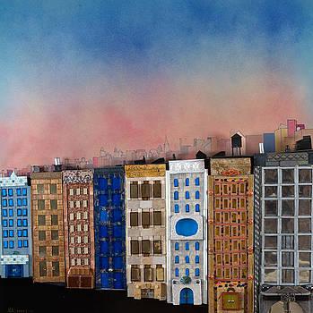 Robert Handler - Sunset on a Beautiful Block