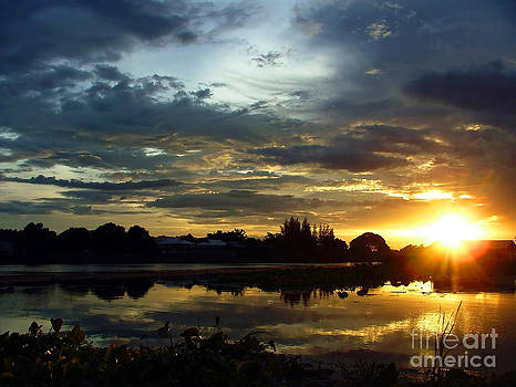 Sunset on the River Kwai by Serena Bowles