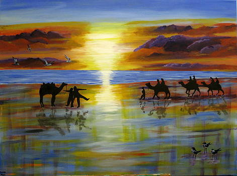 Sunset on the Top End by Susan McLean Gray