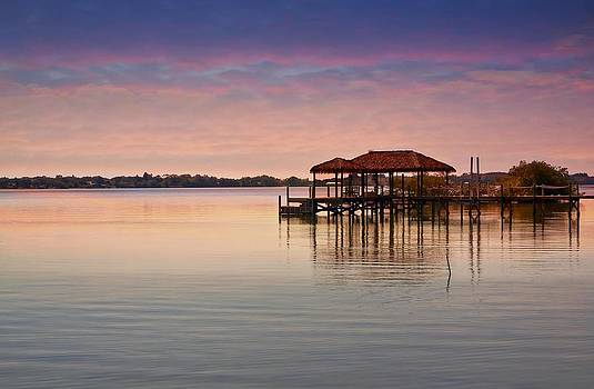 Sunset on the Water by Nancie Rowan